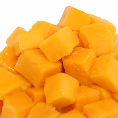 冷凍マンゴー IQFチャンク